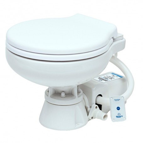 Albin Pump Marine Toilet Standard Electric EVO Compact Low - 12V