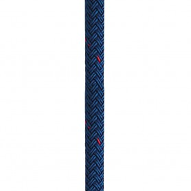 New England Ropes 1-2- X 25 Nylon Double Braid Dock Line - Blue w-Tracer