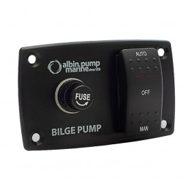 Albin Pump 3-Way Bilge Panel - 12-24V