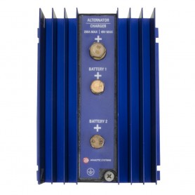 Analytic Systems Single Bank Battery Isolator- 200A- 40V