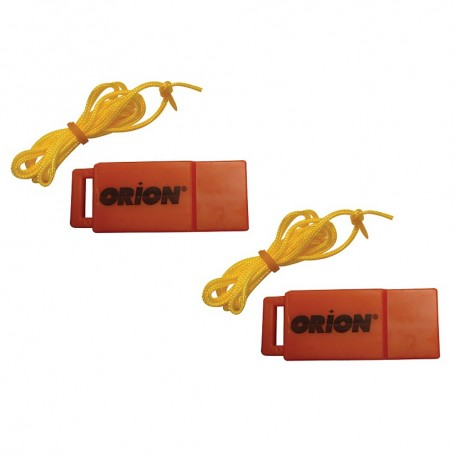 Orion Safety Whistle w-Lanyards - 2-Pack