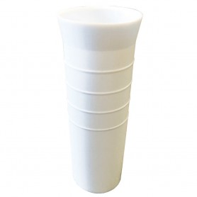 Tigress 8-1-2- Ribbed Replacement Vinyl Insert Liner - White