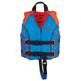 Onyx All Adventure Child Life Jacket - Child 30-50lbs - Blue-Orange