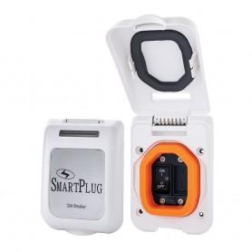 SmartPlug 30 Amp Breaker Non-Metallic Mounting Bracket - White