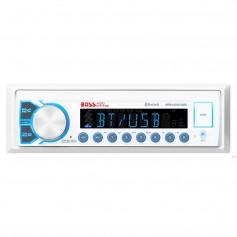 Boss Audio Marine Audio Receiver MR400UAB AM-FM-BT - White
