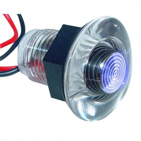 Aqua Signal Lima Single LED Accent Light - Blue