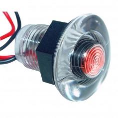 Aqua Signal Lima Single LED Accent Light - Red
