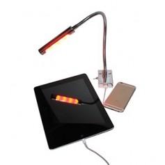 Aqua Signal Marseille LED Chart Reading Light w-USB - Red-White