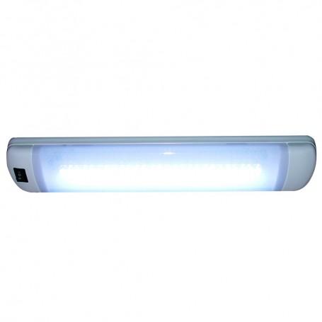 Aqua Signal Maputo Rectangular Multipurpose Interior Light w-Rocker Switch - Hi-White-White LED