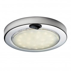 Aqua Signal Colombo LED Dome Light - Warm White-Red w-Stainless Steel Housing