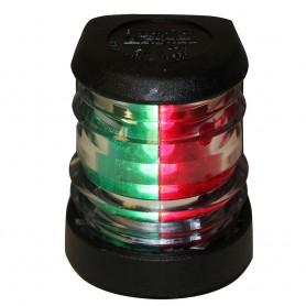 Aqua Signal Series 20 Bi-Color Deck Mount Light - 5W - Black Housing