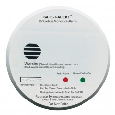 Safe-T-Alert SA-339 White RV Battery Powered CO2 Detector