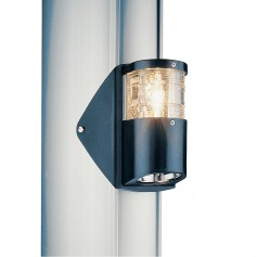 Aqua Signal Series 25 Masthead-Foredeck Combo Light - Mast-Side Mounting - Black Housing