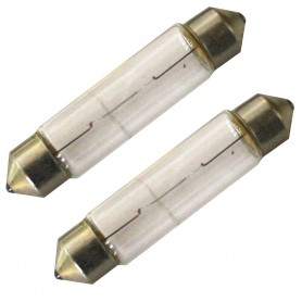 Aqua Signal 10W-12V Convex Festoon Bulb f-New Style Series 25 Navigation Lights - Pair