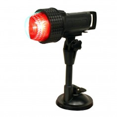 Aqua Signal Series 27 Compact LED Bi-Color Light w-Suction Cup- C-Clamp Inflatable Adapter