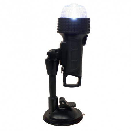 Aqua Signal Series 27 Portable All-Round Light w-24- Pole C-Clamp- U-Bracket- Suction Cup Inflatable Adapter