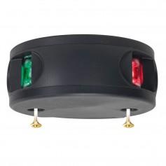 Aqua Signal Series 33 Bi-Color LED Deck Mount Light - Black Housing