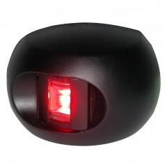Aqua Signal Series 33 Port LED Side Mount Light - Black Housing