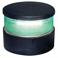 Aqua Signal Series 34 All-Round Mast Mount Light - Green LED - Black Housing