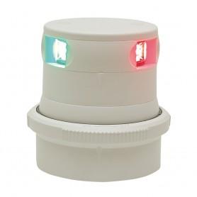 Aqua Signal Series 34 Tri-Color Mast Mount LED Light - White Housing