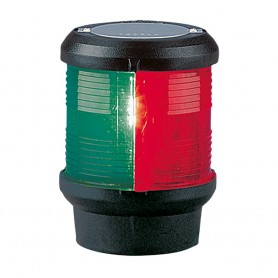 Aqua Signal Series 40 Tri-Color Deck Mount Light - Black Housing