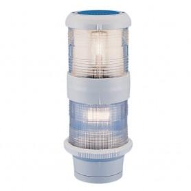 Aqua Signal Series 40 Masthead-Anchor Deck Mount Combo Light - 12V - White Housing