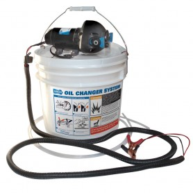 Jabsco DIY Oil Change System w-Pump - 3-5 Gallon Bucket