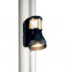 Aqua Signal Series 41 Masthead-Foredeck Combo Mast Mount Light - 12V- Black Housing