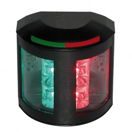 Aqua Signal Series 43 Bi-Color Side Mount Light - 12V-24V - Black Housing