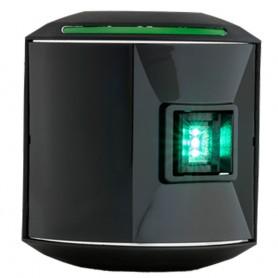 Aqua Signal Series 44 Starboard Side Mount LED Light - 12V-24V - Black Housing