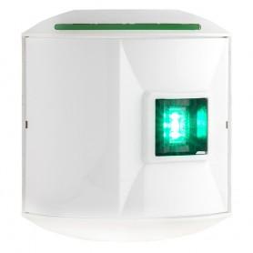 Aqua Signal Series 44 Starboard Side Mount LED Light - 12V-24V - White Housing