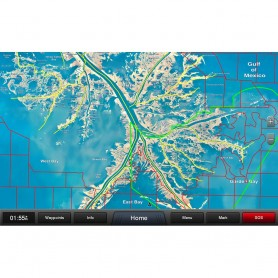 Garmin Standard Mapping - Louisiana One Premium microSD-SD card