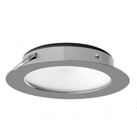i2Systems Apeiron PRO XL A526 Tri-Color- 6W- Dimming- Recessed LED - White Round - Cool White-Red-Blue