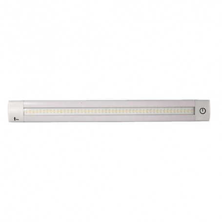 Lunasea Adjustable Linear LED Light w-Built-In Dimmer - 12- Length- 12VDC- Warm White w- Switch