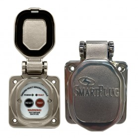SmartPlug 30 Amp-50 Amp ELCI Sensor Stainless Steel Mounting Bracket