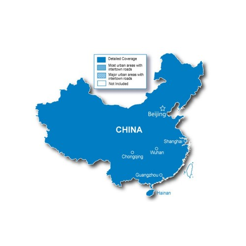 Garmin City Navigator - China NT - English - microSD-SD