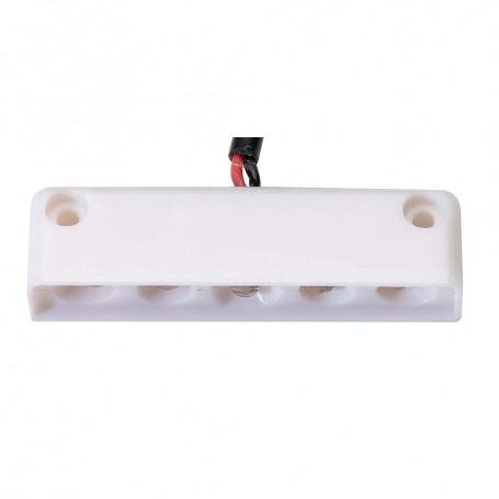 Innovative Lighting 5 LED Surface Mount Step Light - White w-White Case