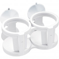 Sea-Dog Dual-Quad Drink Holder w-Suction Cups