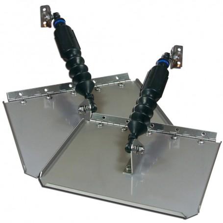 Nauticus ST780-30 Smart Tab Trim Tabs 7 X 8 f-10-12- Boats w-20-25 HP
