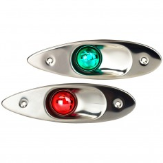 Sea-Dog Stainless Steel Flush Mount Side Lights