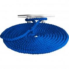 Sea-Dog Twisted Nylon Dock Line - 3-8- x 15 - Blue