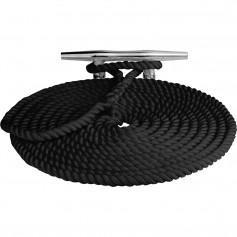 Sea-Dog Twisted Nylon Dock Line - 1-2- x 25 - Black