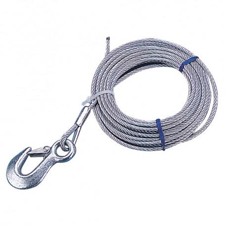 Sea-Dog Galvanized Winch Cable - 3-16- x 20