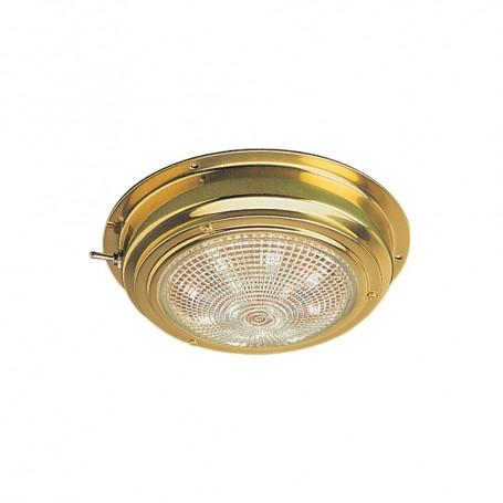 Sea-Dog Brass LED Dome Light - 4- Lens