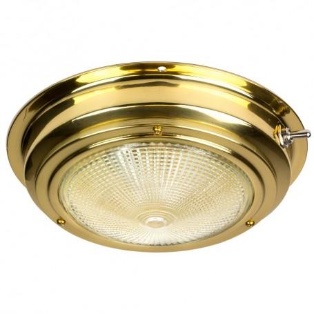 Sea-Dog Brass Dome Light - 5- Lens