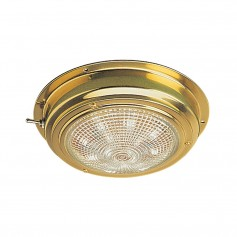 Sea-Dog Brass LED Dome Light - 5- Lens