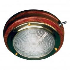 Sea-Dog Teak LED Dome Light - 5- Lens