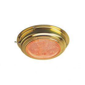Sea-Dog Brass LED Day-Night Dome Light - 5- Lens
