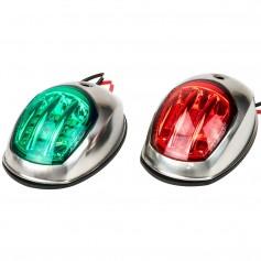 Sea-Dog Stainless Steel LED Navigation Lights - Port Starboard