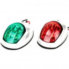 Sea-Dog White LED Navigation Lights - Port Starboard